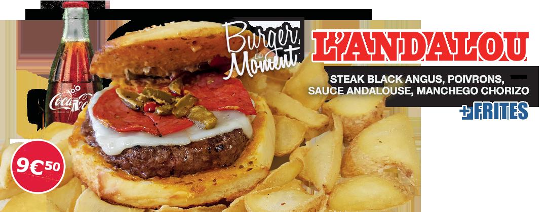 Bonici Burger Andalou