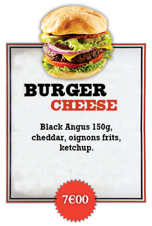 Bonici Burger Cheese