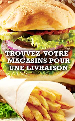 Bonici Burger et ses magasins vous propose des livraisons gratuite