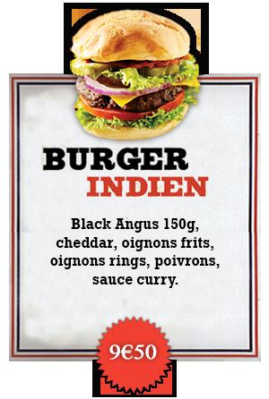 Bonici Burger Indien