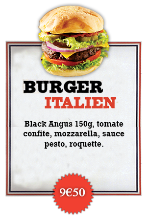 Bonici Burger Italien