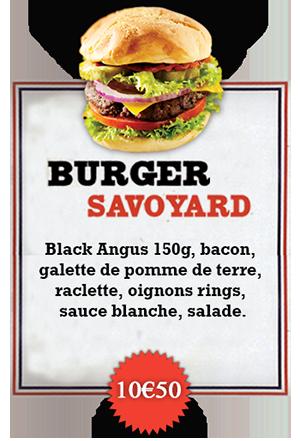 Bonici Burger Savoyard