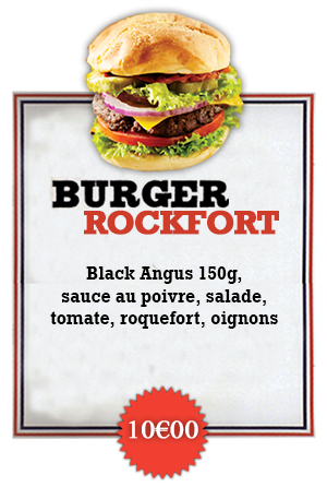 Bonici Burger Rock Fort