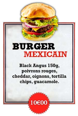 Bonici Burger Mexicain