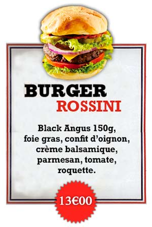 Bonici Burger Rossini